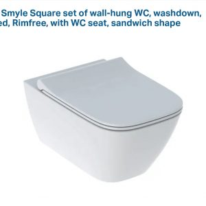Geberit Smyle WALL HUNG (SEAT AND COVER)
