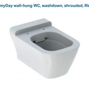 Geberit myDay WALL HUNG (SEAT AND COVER)