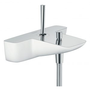 PuraVida single lever bath mixer for exposed 15472400