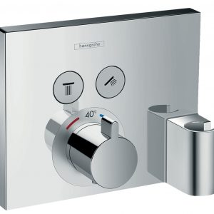 ShowerSelect Thermostat for concealed and shower holder 15765000
