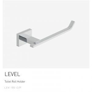 LEVEL Toilet Roll Holder – LEV-180-C/P